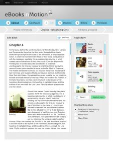 eBooks in Motion - Editionsmodus