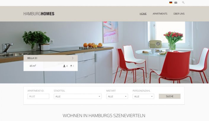 HamburgHomes Themeforest Template