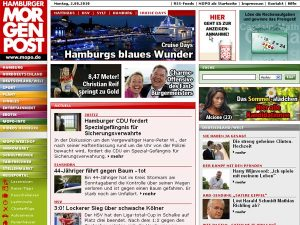 Hamburger Morgenpost - Homepage
