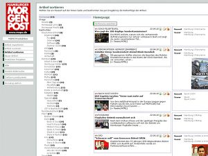 Hamburger Morgenpost - Backend